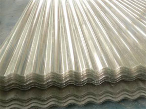 Clear Plastic Corrugated Roofing Sheet